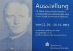 Ausstellung & Wettbewerb für das Franz-Stock-Gymnasium Arnsberg