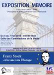 EXPOSITION FRANZ STOCK A PARIS.